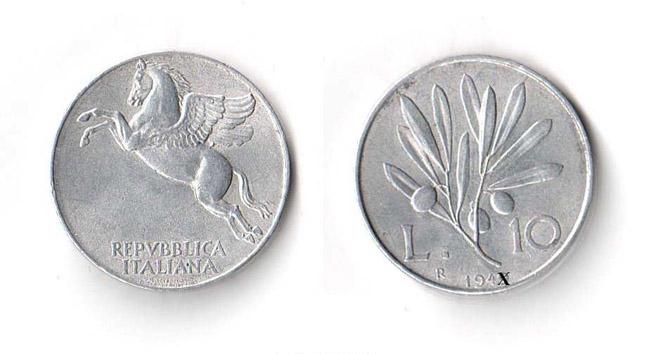 Valore 10 lire