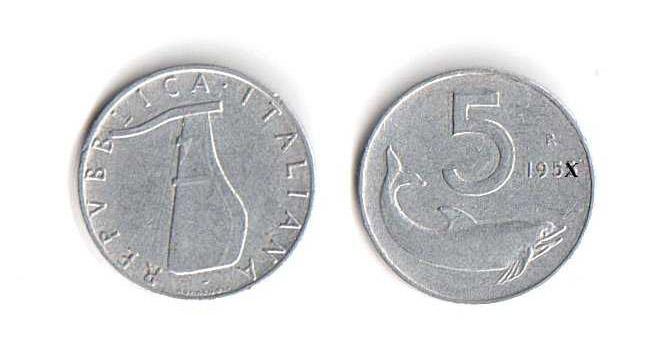 Valore delle 5 lire