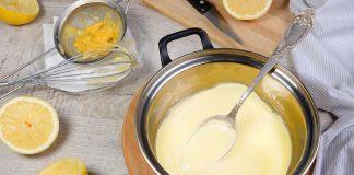 Crema a limone senza uova: la ricetta leggera