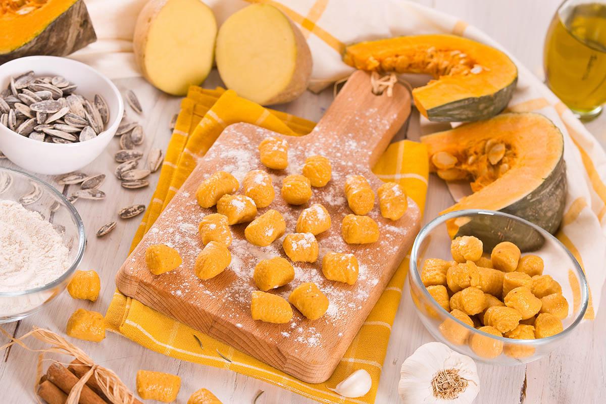 Gnocchi di zucca: la ricetta carnosa e virile