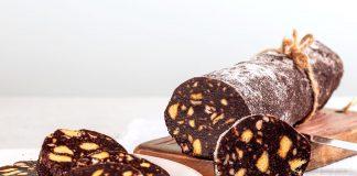Salame di cioccolato: la ricetta veloce e senza uova