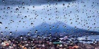 Allerta Meteo Campania: pioggia e vento per 24 ore