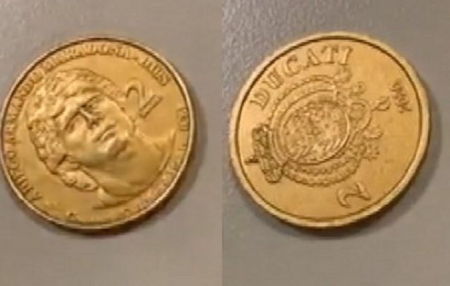 Maradona: una moneta dedicata al pibe de oro