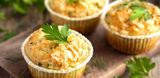 Muffin salati alle zucchine: ricetta di un rustico paradisiaco