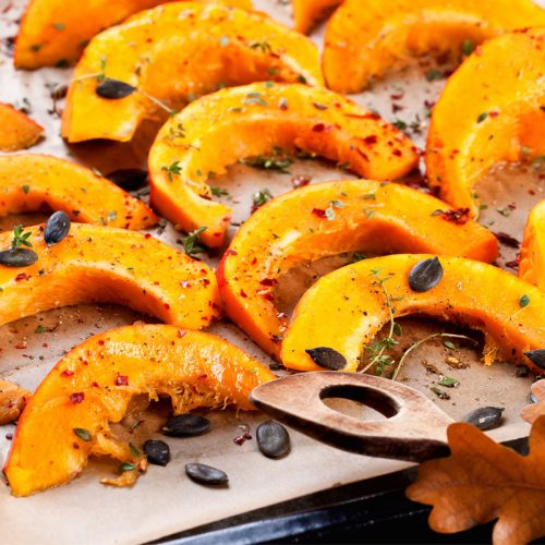 Zucca al forno:la ricetta golosa e veloce