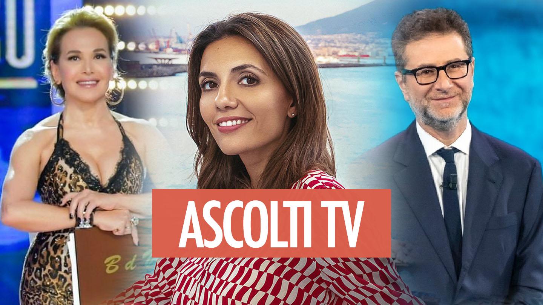 Ascolti tv, 7 febbraio: Mina Settembre ancora sul podio