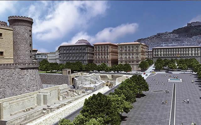 Molo Beverello collegato alla città: passeggiata tra antichità e mare