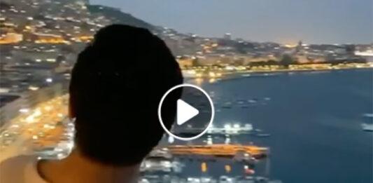 Cesare Cremonini innamorato di Napoli (VIDEO)