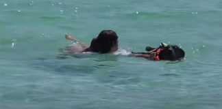 Palinuro, cani bagnino salvano una 15enne a mare