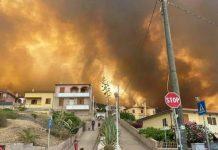Sardegna ancora in fiamme: aiuti anche da Napoli