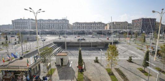 Napoli, immensa Food Hall nella stazione centrale