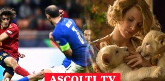 Ascolti tv, 6 ottobre: Italia - Spagna appassiona di più