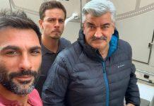 Francesco Arca a Napoli per una nuova serie tv
