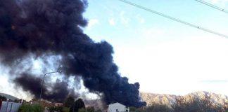 Incendio Airola Benevento