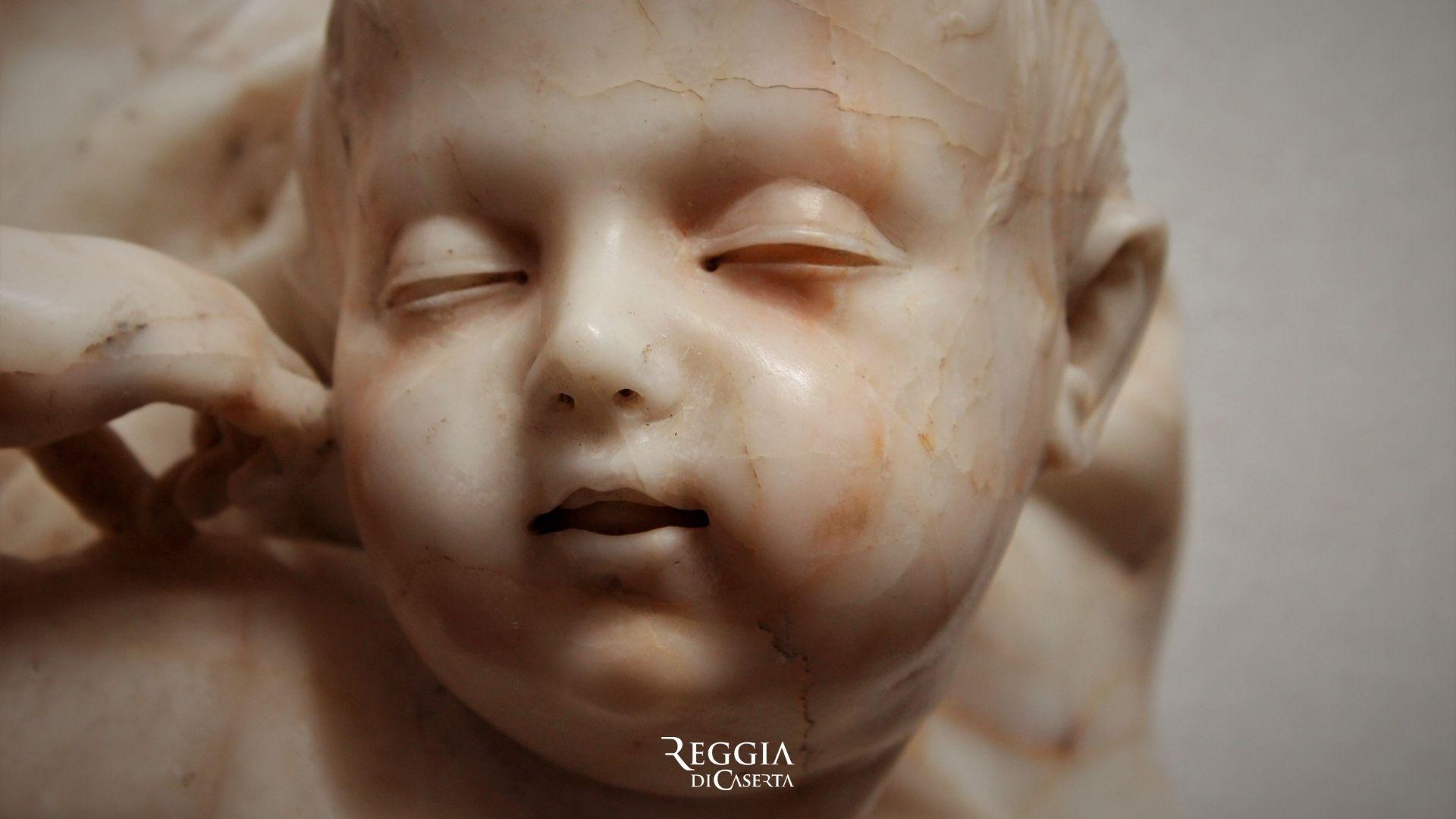 Reggia di Caserta: alla luce un'altra scultura di Sanmartino
